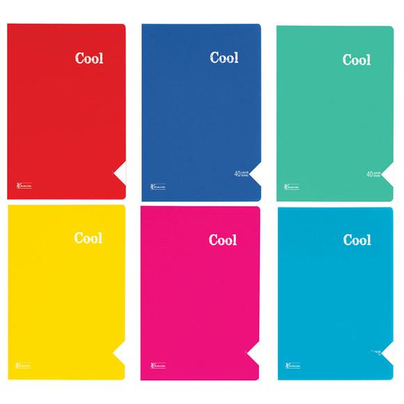Keskin Color Cool Defter PP Kapak Çizgili A4 40 Yaprak 321801-99
