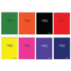 Keskin Color Free Office Çizgili Spiralli Bloknot A5 100 Yaprak 145101-99 - Thumbnail