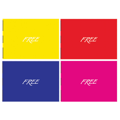 Keskin Color Free PP Kapak Resim Defteri 35x50 cm 30 Yaprak - Thumbnail