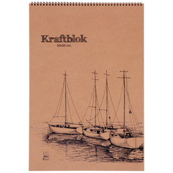 Keskin Color Kraft Bloknot 33,5x48 cm 20 Yaprak 301630-99 - Thumbnail