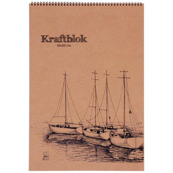 Keskin Color Kraft Bloknot 33,5x48 cm 20 Yaprak 301630-99