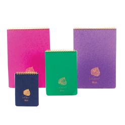 Keskin Color Linden Ofis Spiralli Çizgili Bloknot A4 100 Yaprak 146401-99 - Thumbnail