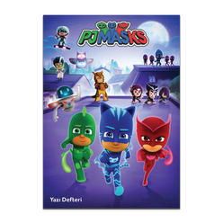 Keskin Color Pijamaskeliler Güzel Yazı Defteri A5 40 Yaprak 280100-88 - Thumbnail