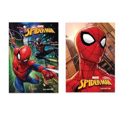 Keskin Color Spiderman Güzel Yazı Defteri A4 40 Yaprak 280200-06 - Thumbnail