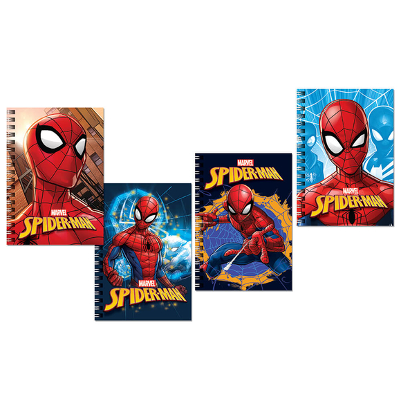 Keskin Color Spiderman Metalize Bloknot A6 80 Yaprak 140400-06