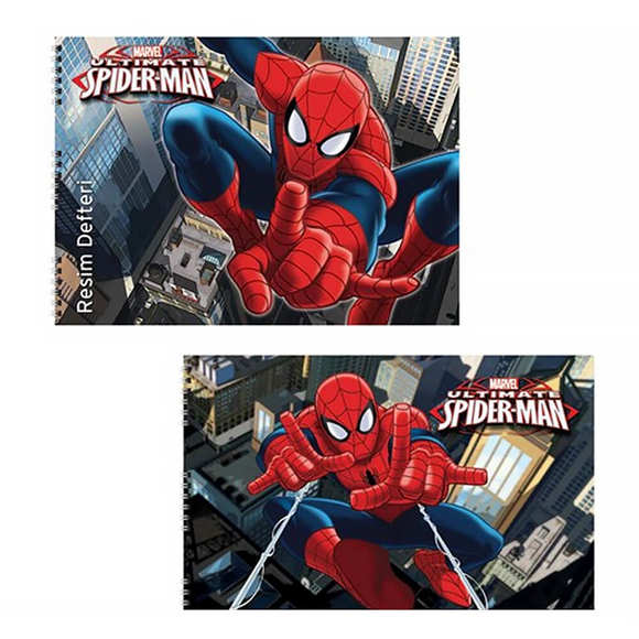 Keskin Color Spiderman Resim Defteri 15 Yaprak 35x50 cm 300315-06