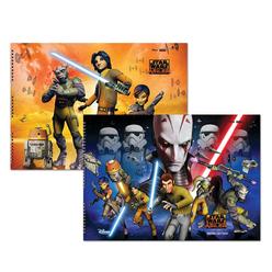 Keskin Color Star Wars Resim Defteri 15 Yaprak 35x50 cm 300315-07 - Thumbnail