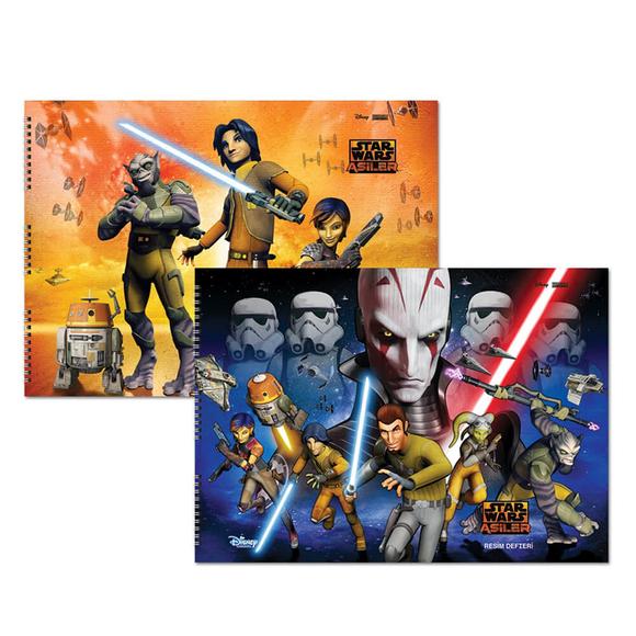 Keskin Color Star Wars Resim Defteri 15 Yaprak 35x50 cm 300315-07