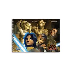 Keskin Color Star Wars Resim Defteri 17x25 cm 15 Yaprak 300115-33 - Thumbnail