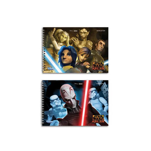 Keskin Color Star Wars Resim Defteri 17x25 cm 15 Yaprak 300115-33