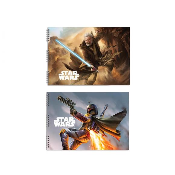 Keskin Color Star Wars Resim Defteri 25x35 cm 15 Yaprak 300215-07