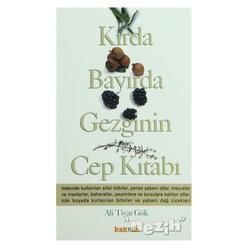 Kırda Bayırda Gezginin Cep Kitabı - Thumbnail