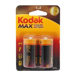 Kodak Max Alkaline Orta Boy C 2'li Pil - Thumbnail