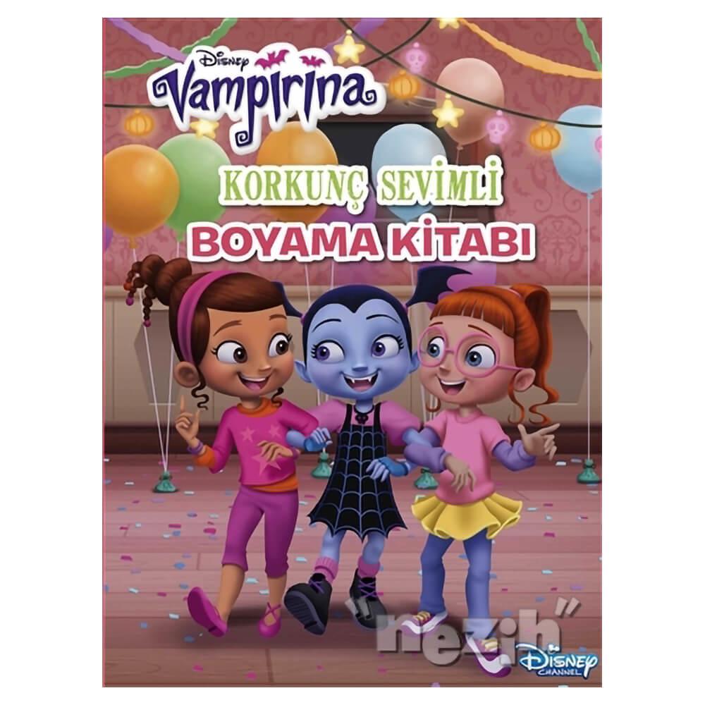 Korkunc Sevimli Boyama Kitabi Disney Vampirina Nezih