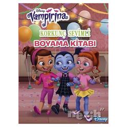 Korkunç Sevimli Boyama Kitabı - Disney Vampirina - Thumbnail