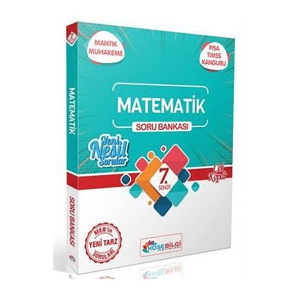 Köşebilgi 7.Sınıf Matematik Özet Bilgili Soru Bankası