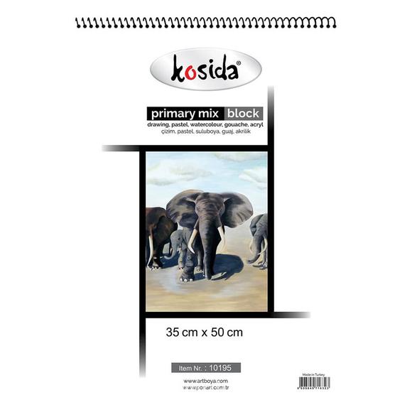 Kosida Painting Mix Block 35x50 25 yp. (Özel Üretim) 10195E