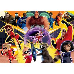 Ks Incredibles 2 Puzzle 200 Parça Çocuk Puzzle LD113 - Thumbnail