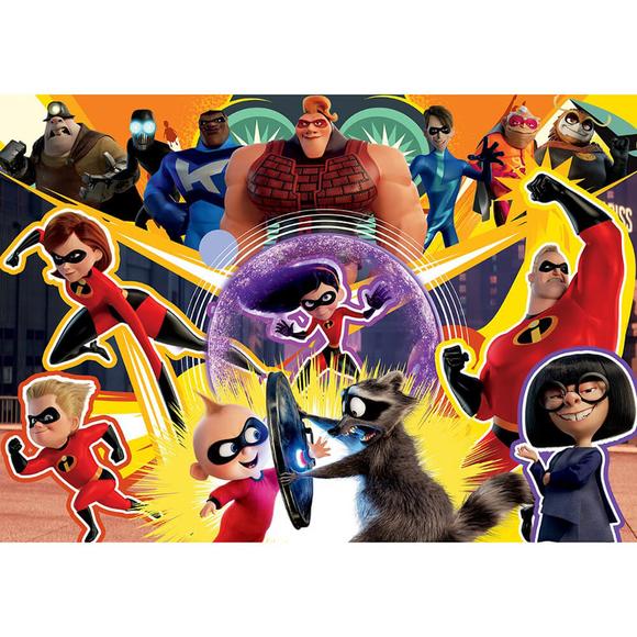 Ks Incredibles 2 Puzzle 200 Parça Çocuk Puzzle LD113