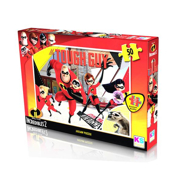 Ks Incredibles 2 Puzzle 50 Parça Çocuk Puzzle LD709
