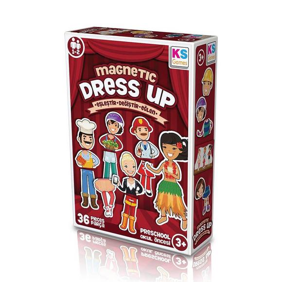 Ks Magnetic Dress Up Eşleştir Değiştir MD174