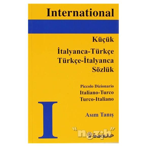 Küçük İtalyanca - Türkçe / Türkçe - İtalyanca Sözlük, Piccolo Dizionario Italiano - Turco Turco -