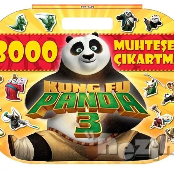 Kung Fu Panda 3 - (3000 Muhteşem Çıkartma)