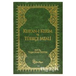 Kur'an-ı Kerim ve Türkçe Meali (Metinli Büyük Boy) - Thumbnail