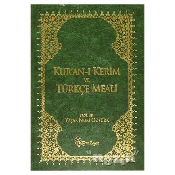 Kur'an-ı Kerim ve Türkçe Meali (Metinli Büyük Boy)