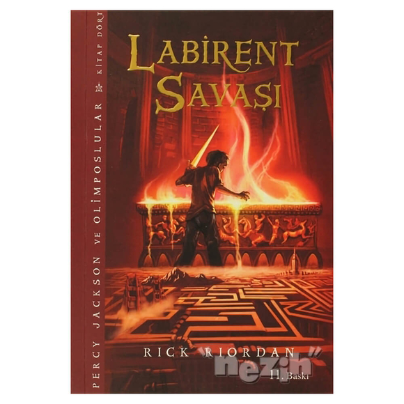 Labirent Savaşı 4 - Percy Jackson ve Olimposlular