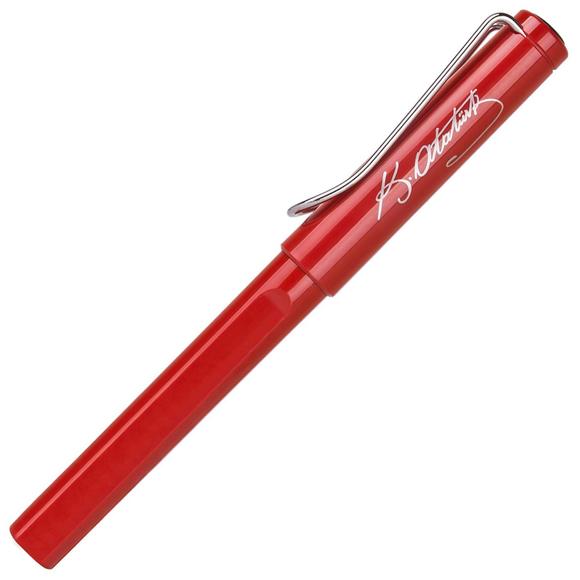 Lamy Safari Atatürk İmzalı Roller Kalem Kırmızı 316A