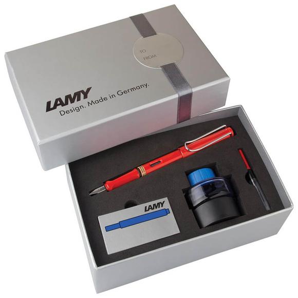Lamy Safari Dolma Kalem Seti Kırmızı 16DS-M