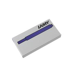 Lamy T10 Dolma Kalem Kartuşu 5'li Mavi Siyah - Thumbnail