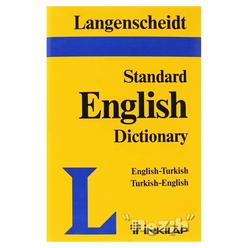 Langenscheid Standard English Dictionary English-Turkish Turkish-English - Thumbnail