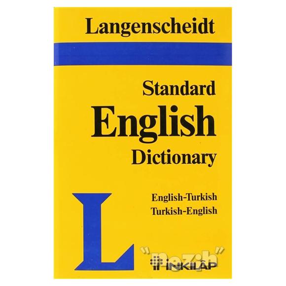 Langenscheid Standard English Dictionary English-Turkish Turkish-English