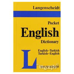 Langenscheidt Pocket English Dictionary English-Turkish / Turkish-English - Thumbnail