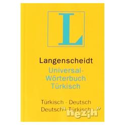 Langenscheidt Universal-Worterbuch Türkisch Türkisch-Deutsch / Deutsch-Türkisch - Thumbnail