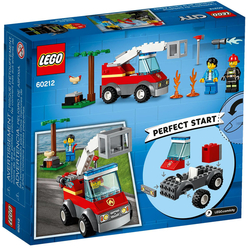 Lego City Barbecue Burn Out 60212 - Thumbnail