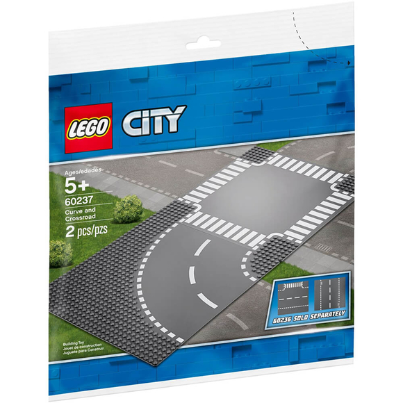 Lego City Curve And Crossroad 60237