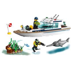 Lego City Diving Yacht 60221 - Thumbnail