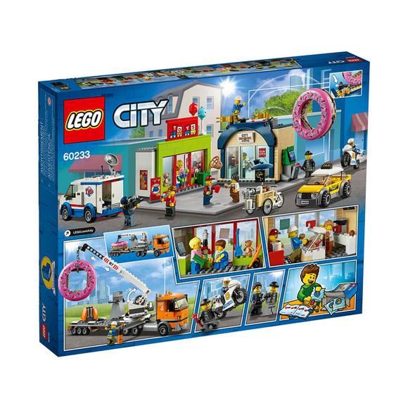 LegoCity Donut Dükkanı Açılışı 60233