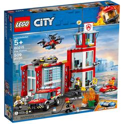 Lego City Fire Station 60215 - Thumbnail
