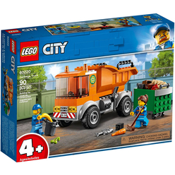 Lego City Garbage Truck 60220 - Thumbnail
