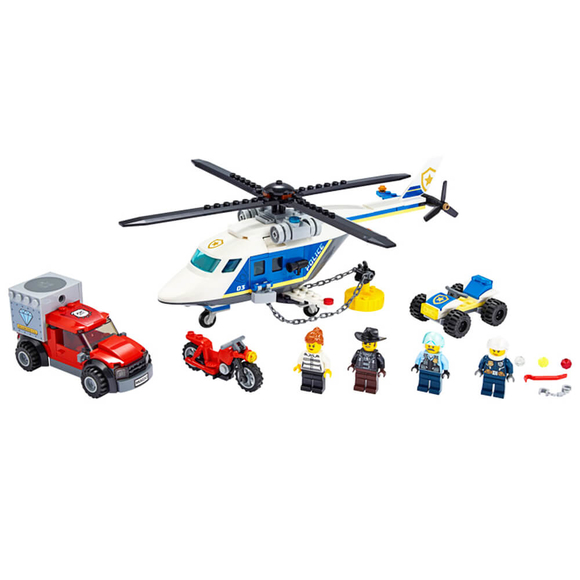 Lego City Helicopter Chase 60243