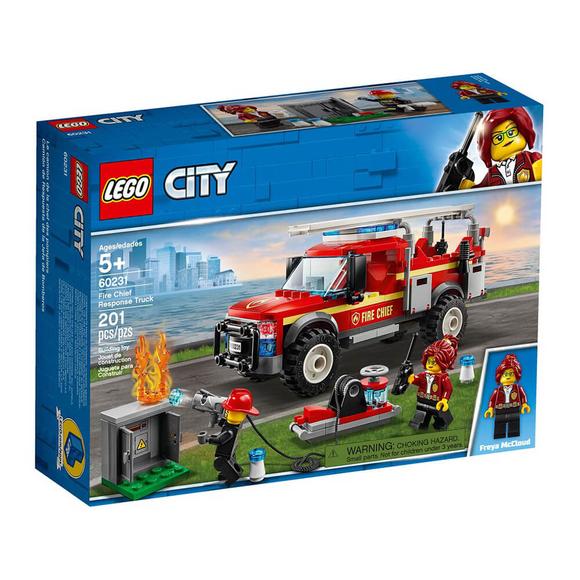 LegoCity İtfaiye Şefi Müdahale Kamyonu 60231