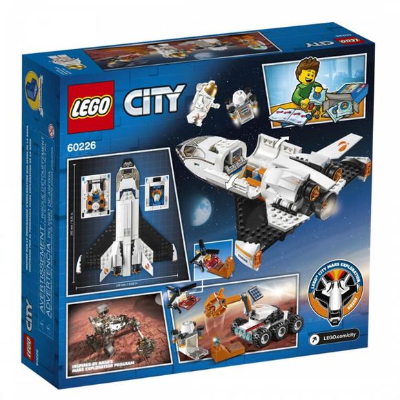 LegoCity Mars Araştırma Mekiği 60226