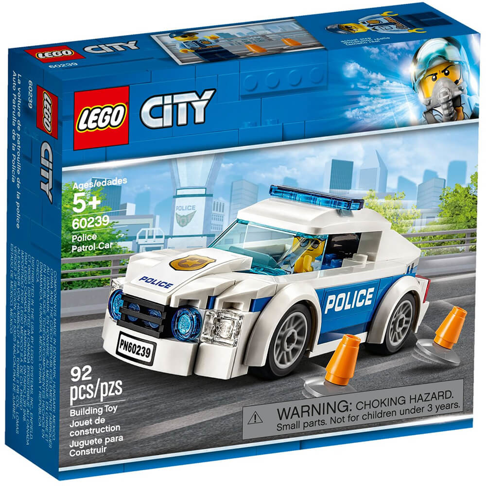 Lego City Police Patrol Car 60239 Nezih