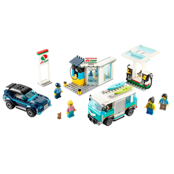 Lego City Service Station 60257 - Thumbnail