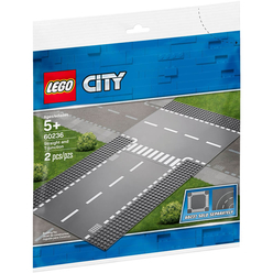 Lego City Straight And T-junction 60236 - Thumbnail