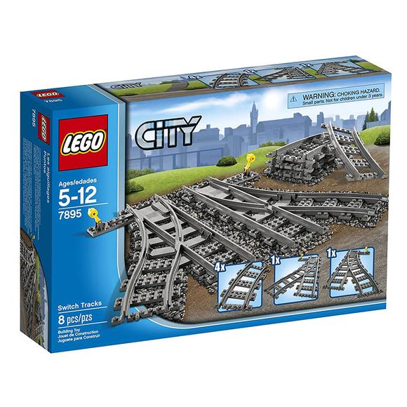 Lego City Switching Tracks 7895